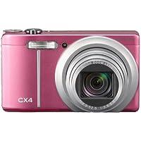 Ricoh CX4 Digitalkamera (10 Megapixel, 10-fach opt. Zoom, 7,6 cm (3 Zoll) Display, Bildstabilisator) pink