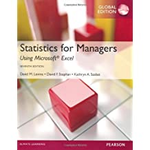 Statistics for Managers Using MS Excel by David M. Levine (2013-03-07)