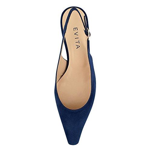 Evita Shoes Lia, Scarpe col tacco donna Blau