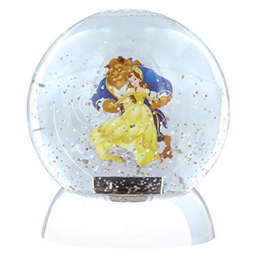 Disney Department 56 Beauty & The Beast Waterdazzler Globe, Plastik, Multicolour, 10 x 10 x 12 cm -
