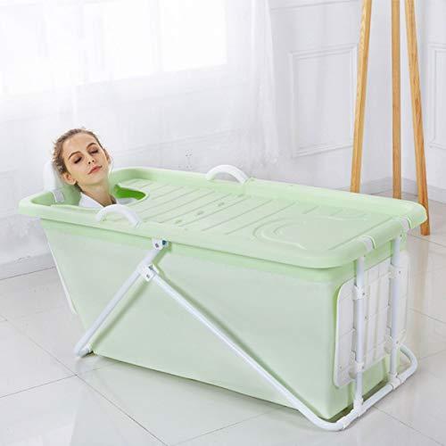 Faltende Badewanne, Tragbare Badewanne, Aufblasbare Badewanne, Kinderbecken, Folding Badewanne Große Kinder Badewanne ,Kunststoff Mit Deckel -
