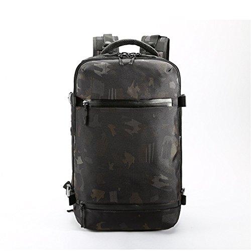 BESTSOON Reise-Laptop-Rucksack Herren Reise Rucksack multifunktionale Outdoor Casual wasserdicht Oxford Tuch Laptop Daypack Commerce Geschäftsreise Schule Computer Tasche für Frauen Männer -