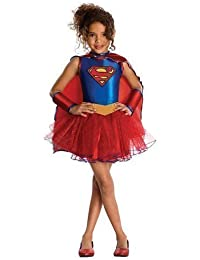 Lizenziertes Kind Wonder Woman Deluxe Kostüm Kinder Mädchen 3-10 Jahre Dress