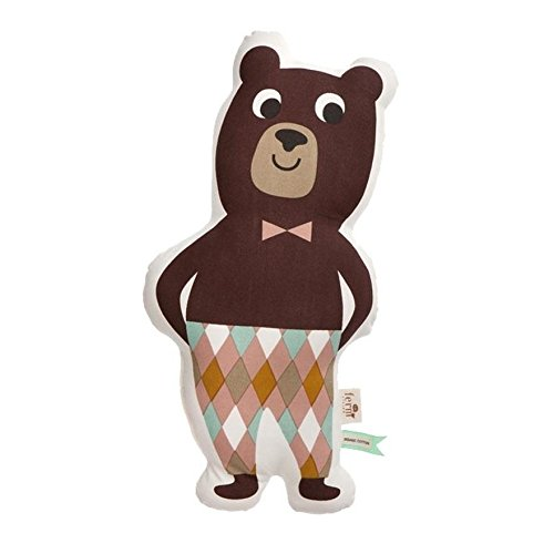 Ferm Living Kissen Mr Bear - 26 x 50 cm