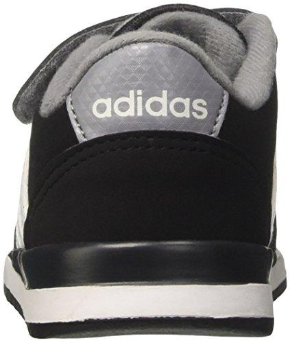adidas  V Jog Cmf Inf, chaussure de sport Unisexe - enfant Noir (Cblack/ftwwht/grey)