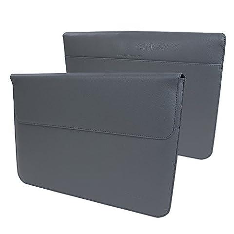 iPad Pro 12.9 (2017) und Pro 12.9 (2015) Sleeve (Grau), Snugg - Hülle mit lebenslanger (Manicotto Di Chiusura Copertina)