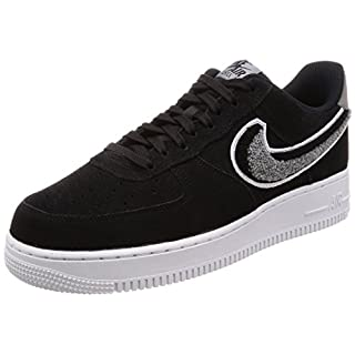 NIKE Herren Air Force 1 '07 Lv8 Fitnessschuhe, Mehrfarbig (Black Cool Grey/White 014), 42 EU