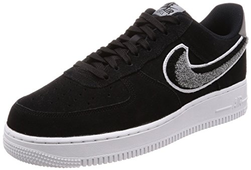 Nike Herren Air Force 1 '07 Lv8 Sneakers, Mehrfarbig (Black Cool Grey/White 014), 44.5 EU -