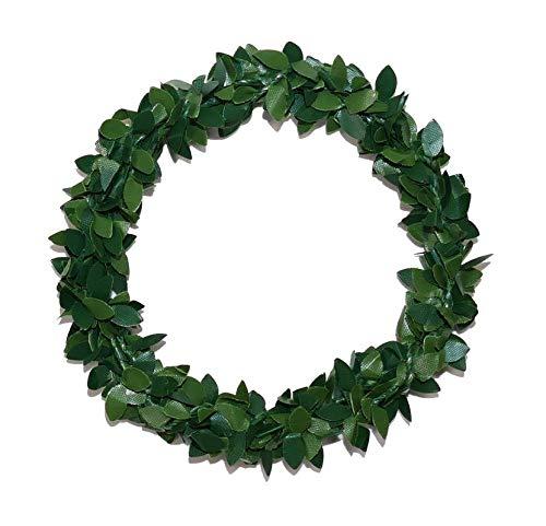 Unbekannt Buchsbaumring ⌀10cm Ring Kranz aus Buchsbaum Kerzenring Kirchenbankschmuck Kommuniom (50) (Ring Buchsbaum Hochzeit)
