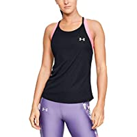 Under Armour UA Speed Stride Racer Tank Tanque, Mujer, Negro, MD