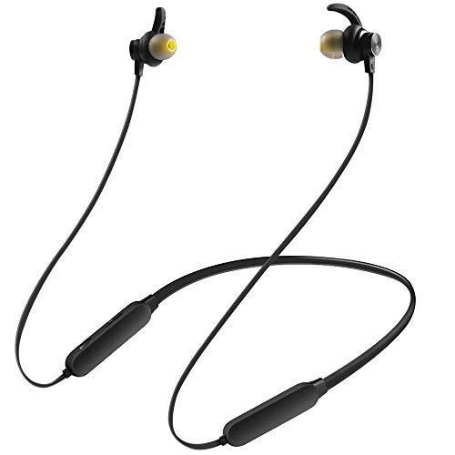Baonuor Bluetooth 4,2 Wireless Sport Kopfhörer In-Ear Magnetisches Headset, Stereo Sound, IPX5 Wasserschutzklasse, mit Mikrofon, für iPhone, iPad, Huawei, Samsung, Nexus, HTC