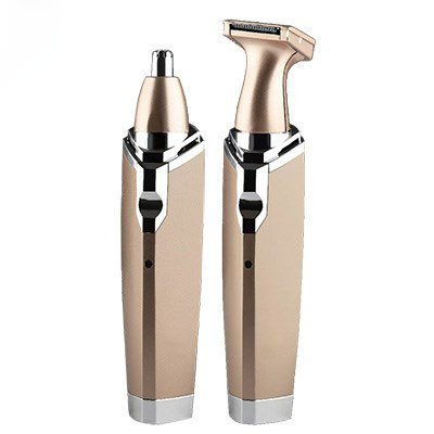 GOOSEBERRY 2 in 1 Portable Mini Pocket Nose and Facial Small Hair Trimmer Professional Choice Home Salon Use
