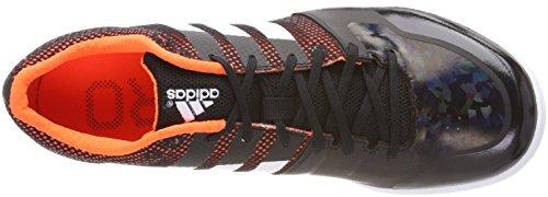 Adidas Adizero Lj, Chaussures D'athlétisme Unisexe - Noir Adulte (noyau Noir / Orange)