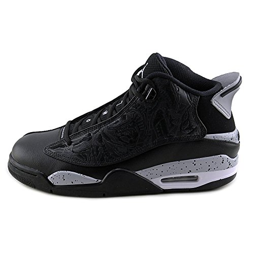 Nike Air Jordan Dub Zero, Chaussures de Sport-Basketball Homme, Taille Noir/Gris looup blanc