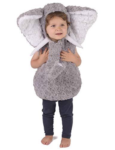 Generique Weiches Elefanten-Kostüm für Kinder 86/92 (18-24 ()