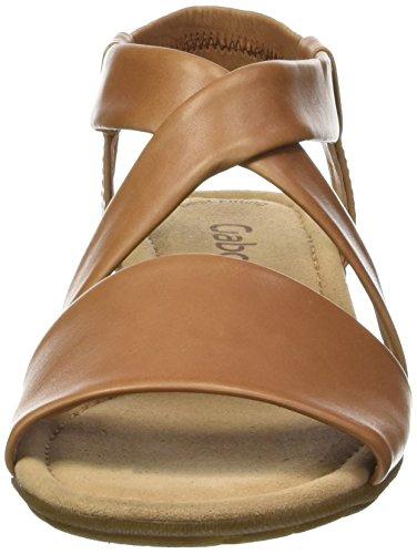 Gabor Shoes 64.550, Sandali Donna Marrone (Cognac 24)