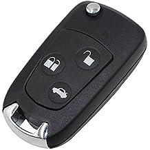 Heart Horse 3 Botón Botones Conversión Remote Key Fob para Ford Focus/Mondeo /Galaxy