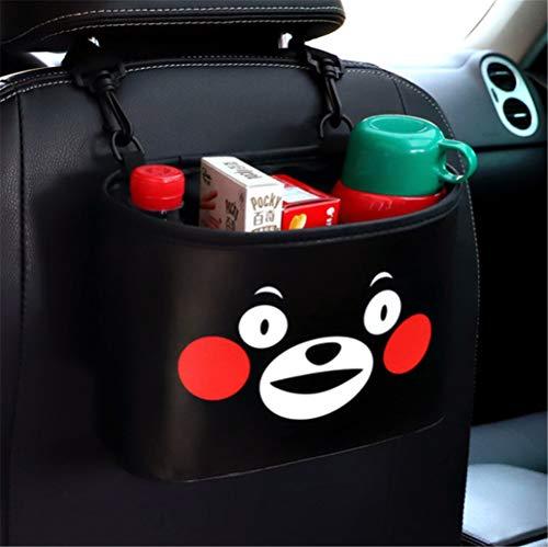 Zurück Bar Stuhl (Überraschung Bär Auto Stuhl Zurück Aufbewahrungseimer Baby Zubehör Aufbewahrungstasche Tragbare Tasche 24 * 17 * 10 Cm)