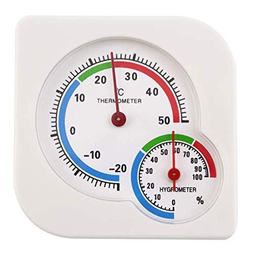 Barry Century Innen-Thermometer, Hygrometer, hohe Präzision, Temperatur, Luftfeuchtigkeitsmesser, Thermometer für Haushalt, Babyzimmer, Gewächshaus, Büro, Wohnzimmer