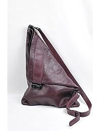 Lilimill - Piega Alce Bordò, Shoppers y bolsos de hombro Mujer, Violett (Bordo), 33x0,5x31 cm (B x H T)