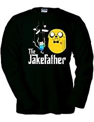 Camiseta Hora de Aventuras Jake Father manga larga (Talla: TALLA-XXL)