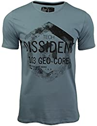 Dissident Mens T-Shirt by Short Sleeved