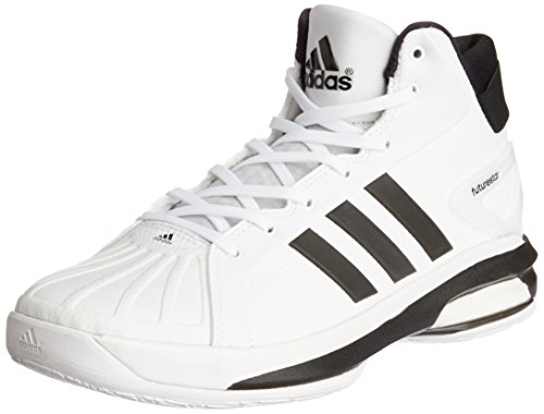 adidas Herren Basketball Schuhe Futurestar Boost white/black 42 (Herren-basketball-schuh Retro)