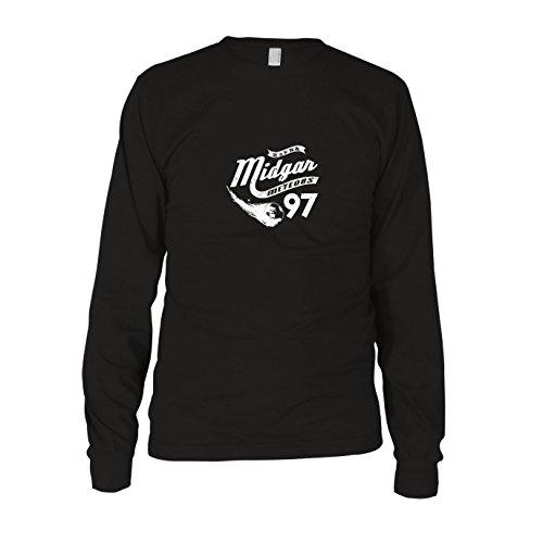 Midgar Meteors - Herren Langarm T-Shirt, Größe: L, Farbe: (Fun Kostüme Unlimited)