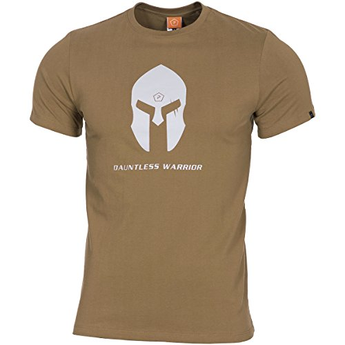 Pflicht Der Brust (Pentagon T-Shirt Spartan Coyote, XL, Coyote)