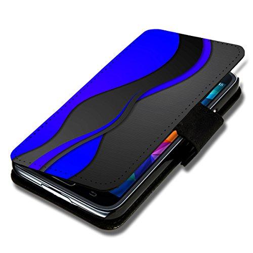 Book Style Flip Handy Tasche Case Schutz Hülle Schale Motiv Etui für Wiko Birdy - A46 Design7