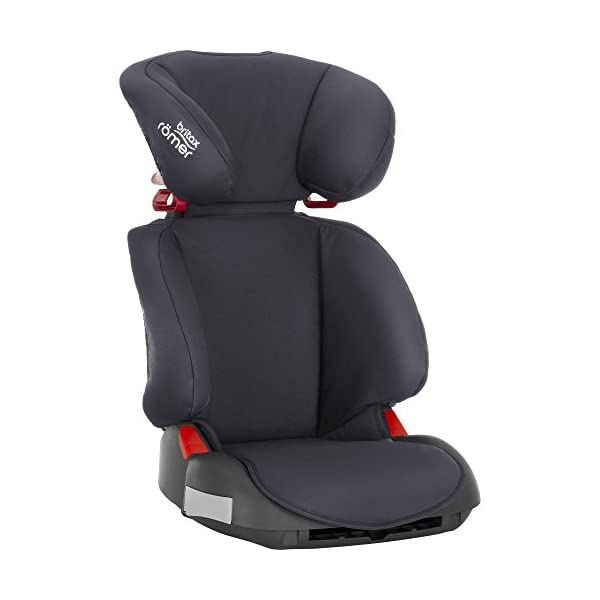 Britax Römer Adventure Group 2-3 (15-36kg) Car Seat - Storm Grey Britax Römer Intuitively positioned seat belt guides for straightforward installation every time Reassurance of high back booster safety with side impact protection Lightweight, easily transferable shell 5