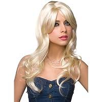 Pleasure Wigs Women's Jessie Wigs, One Size, Platinum Blonde