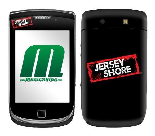 MusicSkins MS-JYSH40199 Schutzfolie für BlackBerry Torch (9800), Jersey Shore - Logo