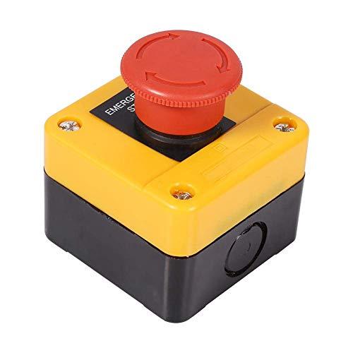 Presupuesto: Condición: 100% nuevo Nombre del artículo: Botón de parada de emergencia Tipo de contacto: 1 NO + 1 NC (DPST) Material: plástico + metal Color del botón: rojo Forma del botón: Seta Voltaje: 660V Corriente: 10A Tamaño (L x W x H): Aprox. ...
