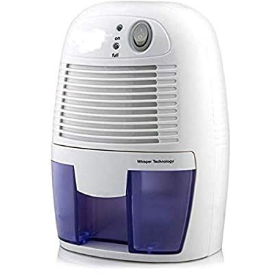 MOFRED® 500ml Compact and Portable Mini Air Dehumidifier for Damp, Mould, Moisture in Home, Kitchen, Bedroom, Caravan, Office, Garage, Bathroom, Basement