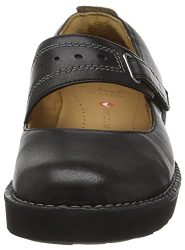 Clarks Un Briarcrest non strutturati Casual scarpe da donna Black Leather