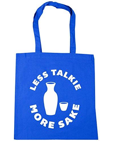 e4aa3532 HippoWarehouse Less Talkie More Sake Tote Shopping Gym Beach Bag 42cm  x38cm, 10 litres