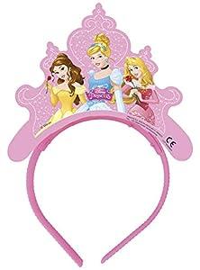 Procos - Tiaras de papel Princess Dreaming, 4 unidades, multicolor, PR87415