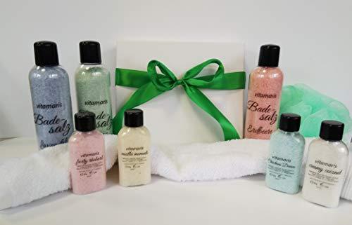 Maris Sal Sali da bagno regalo con bagno palline - Vegan e Fair Trade - direttamente dal produttore Bianco