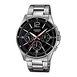 Casio Enticer Black Dial Men's Watch – MTP-1374D-1AVDF (A832)