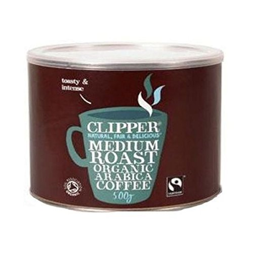 Clipper Arabica Roast Medium Coffee 500g 41AMbMKM 8L