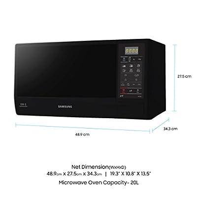 Samsung 20-Litre 750-Watt Grill Microwave Oven