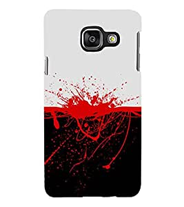 FUSON Splattered Blood Stain 3D Hard Polycarbonate Designer Back Case Cover for Samsung Galaxy A5 (2015) :: Samsung Galaxy A5 Duos (2015) :: Samsung Galaxy A5 A500F A500Fu A500M A500Y A500Yz A500F1/A500K/A500S A500Fq A500F/Ds A500G/Ds A500H/Ds A500M/Ds A5000