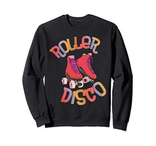 Roller Disco - 70er und 80er Party - Vintage Retro - Skater Sweatshirt (Cool Dude Kostüm)