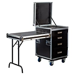 Accu Case 19 Inch 5 Drawer Rack With Table