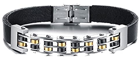 SaySure- Unique Design Bicycle Chain Bracelet Men Gold Plated