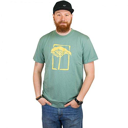 Mahagony T-Shirt T.O.L. Basic grün/gelb Grün/Gelb