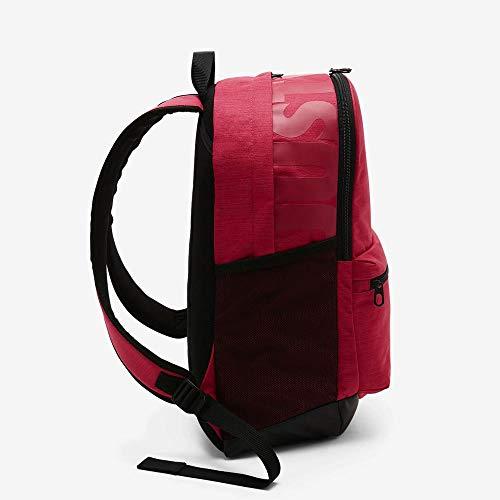 Nike Unisex Pink Polyester Brasilia Training Backpack Image 7