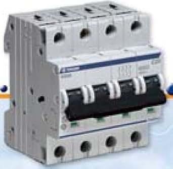 Terasaki disjoncteur magn to thermique 4 p les courbe c 25 a commerce industrie - Disjoncteur magneto thermique ...