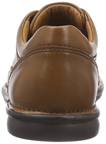 Clarks Butleigh Edge, Derby homme Marron (Tan Leather)
